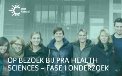 Visiting PRA Health Sciences – phase 1 research