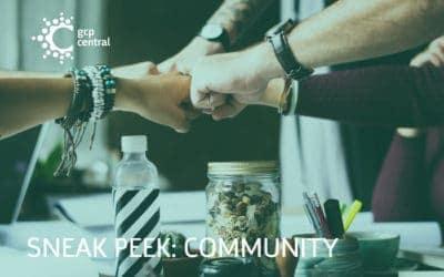 Sneak Peek: community