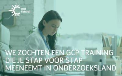 We zochten een GCP training die je stap voor stap meeneemt in onderzoeksland