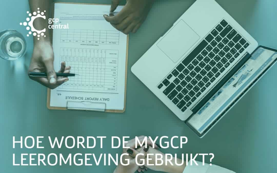 How is the myGCP learning environment used?