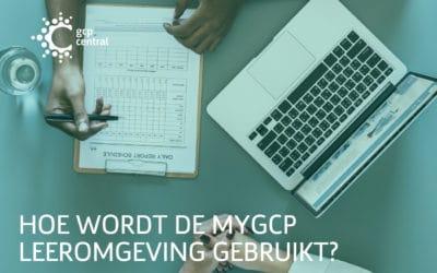 Hoe wordt de myGCP leeromgeving gebruikt?