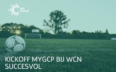 kickoff myGCP bij WCN succesvol