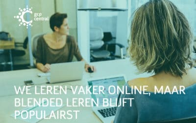 We leren vaker online, maar blended leren blijft populairst