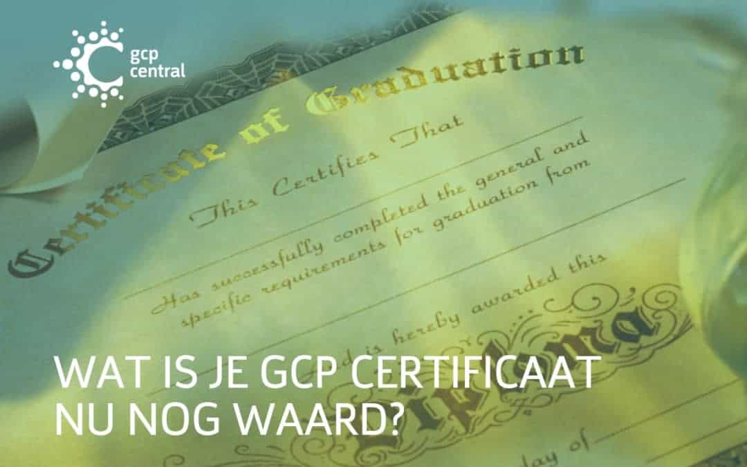 What is your GCP certificate worth?