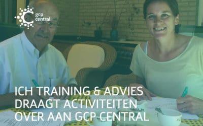 ICH Training & Advies draagt activiteiten over aan GCP Central