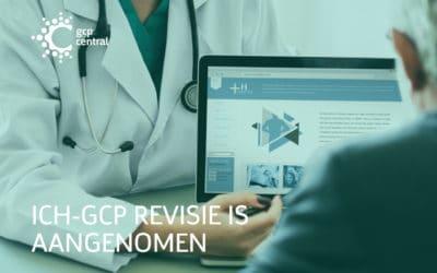 ICH-GCP revisie is aangenomen