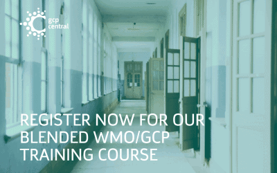 Register now for our blended WMO / GCP training course