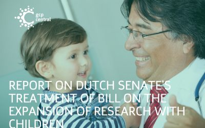 Report on Dutch Senate's treatment of bill on the expansion of research with children