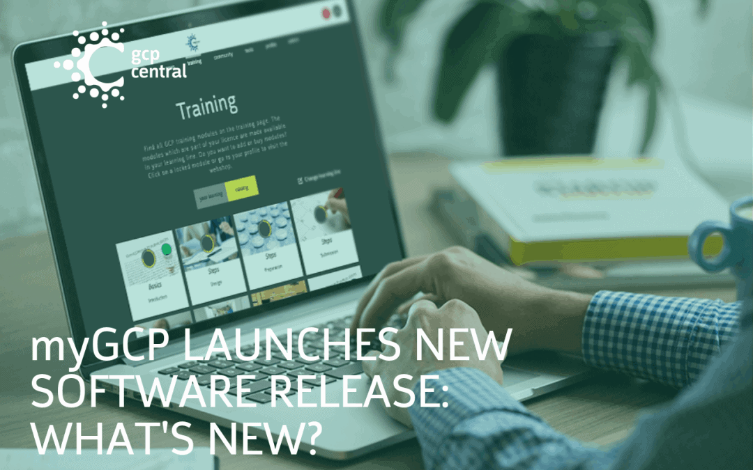 myGCP launches new software release – What's new?