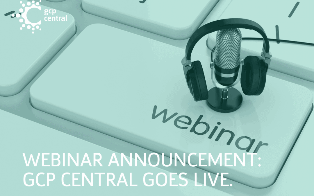 gcp central webinar announcement