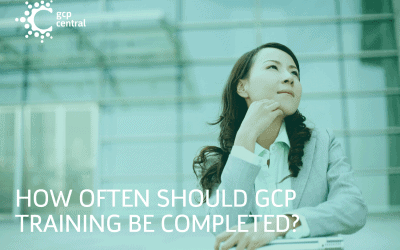 How often should GCP Training be completed?