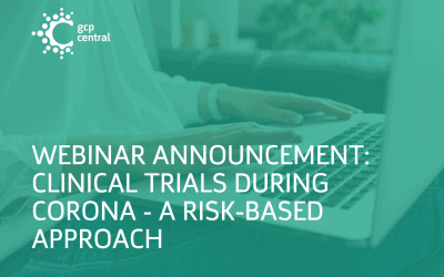 GCP Central Announces Live Webinar: Clinical Trials During COVID19 – A Risk-Based Approach