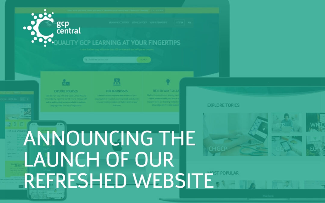 Announcing the launch of our refreshed website