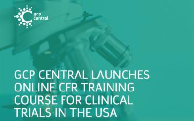 GCP Central Launches Online CFR training Course For Clinical Trials In The USA