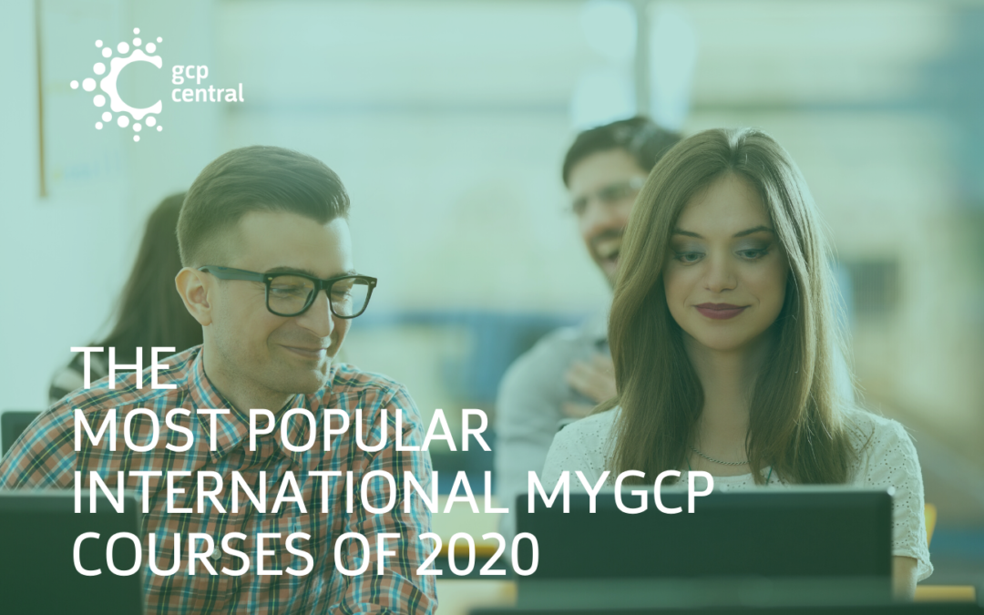 The Most Popular International myGCP Courses Of 2020