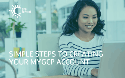 Simple Steps To Creating Your myGCP Account