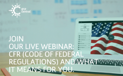 Join Our Live Webinar: CFR (Code of Federal Regulations) And What It Means For You.