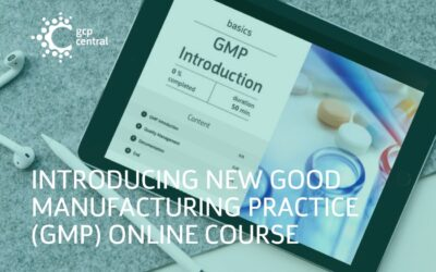 Introducing Our New Good Manufacturing Practice (GMP) Online Course