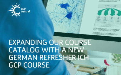Expanding Our Course Catalog with a New German Refresher ICH GCP Course